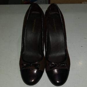 Brown/Black Heels